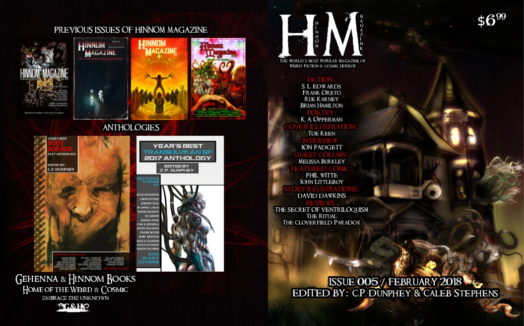 Hinnom Magazine 005 full cover