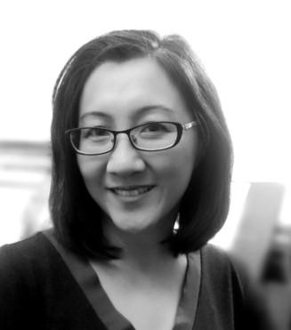 Lena Ng Author Pic B&W