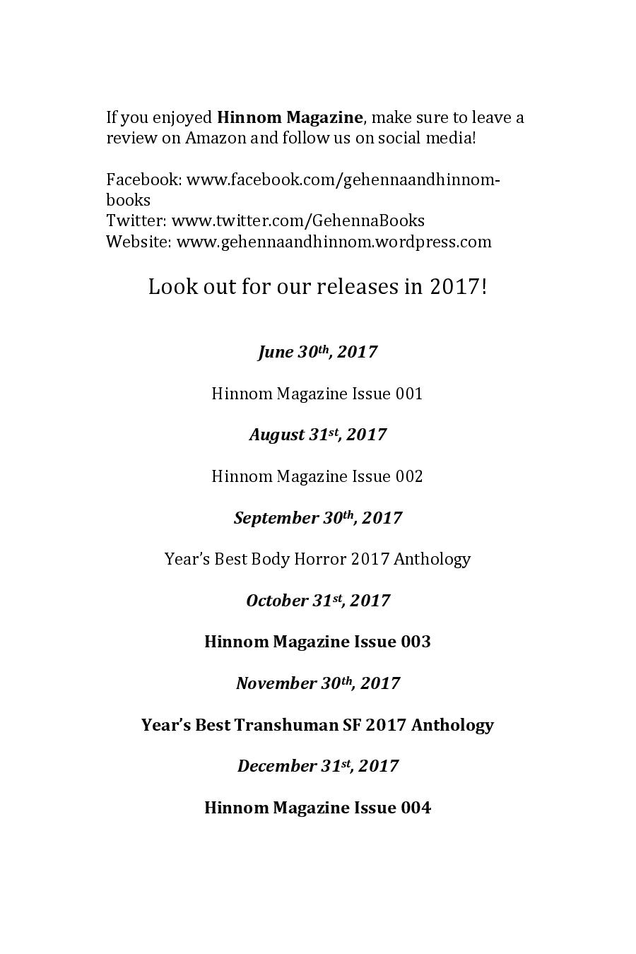 Hinnom Magazine 003 Manuscript Print-page-141